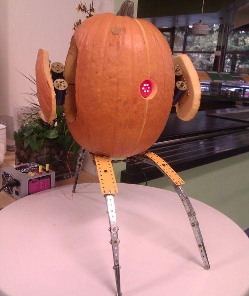 Pumpkin Turret